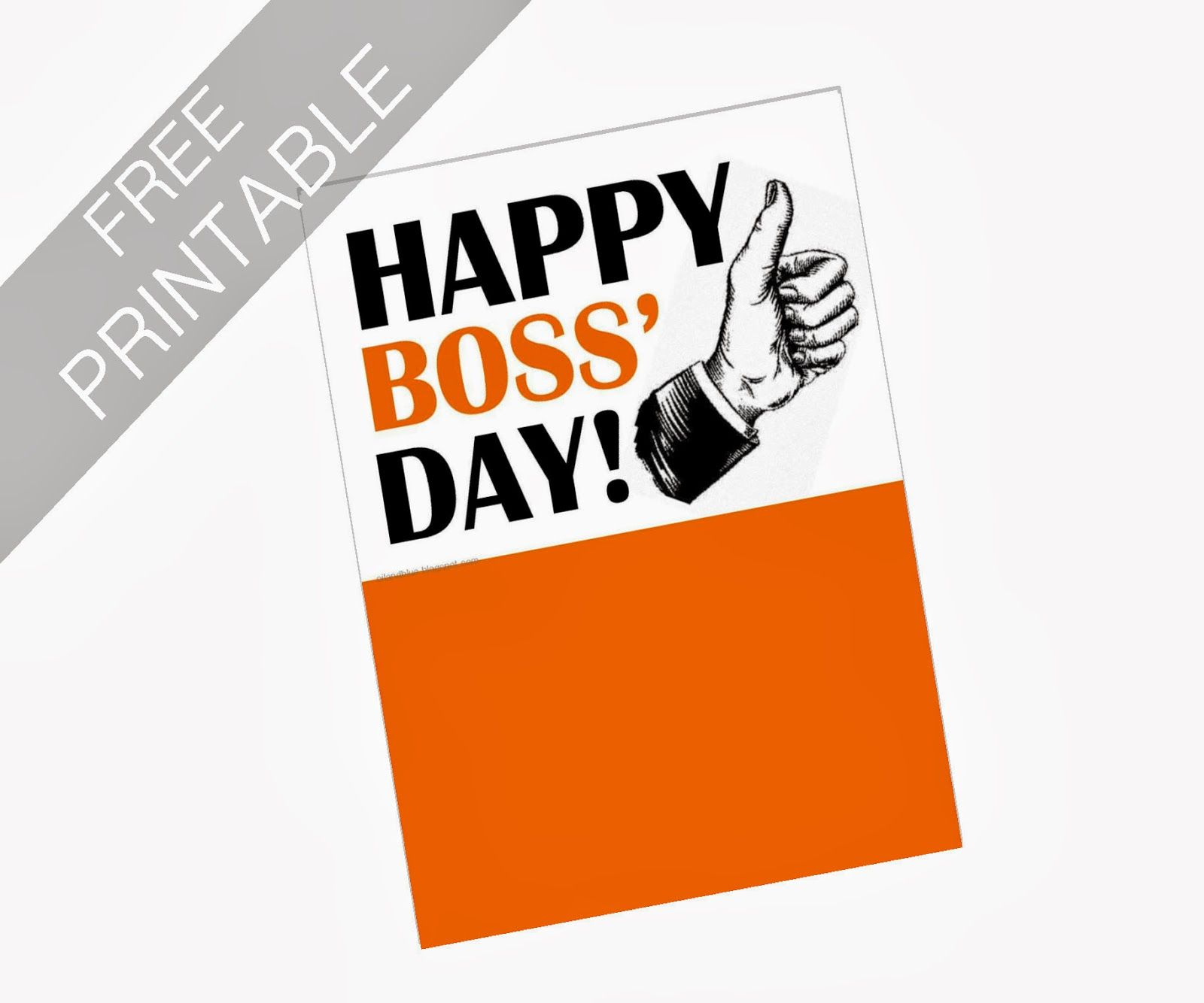 Oil And Blue: Free Printables - Happy Boss' Day Card | Party Ideas - Boss Day Cards Free Printable