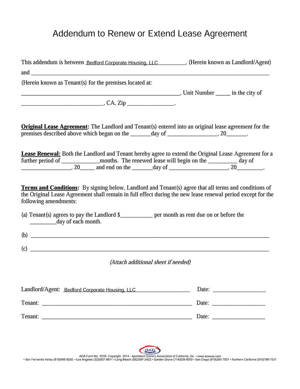 Online Samples Rental Agreements 650*841 - Pet Addendum To Rental - Free Printable Pet Addendum