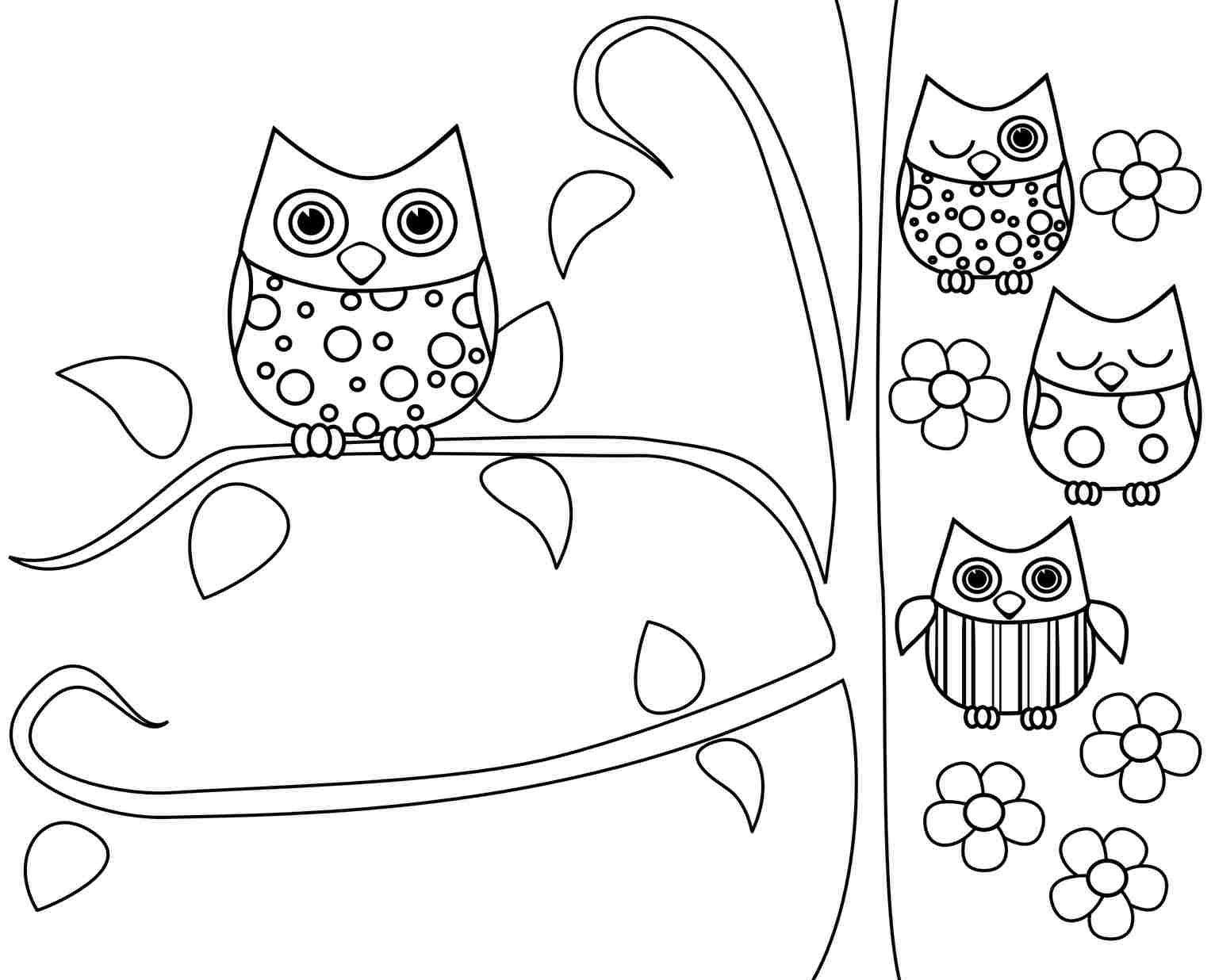 Owl Coloring Pages | Work And Play | Pinterest | Owl Coloring Pages - Free Printable Owl Coloring Sheets