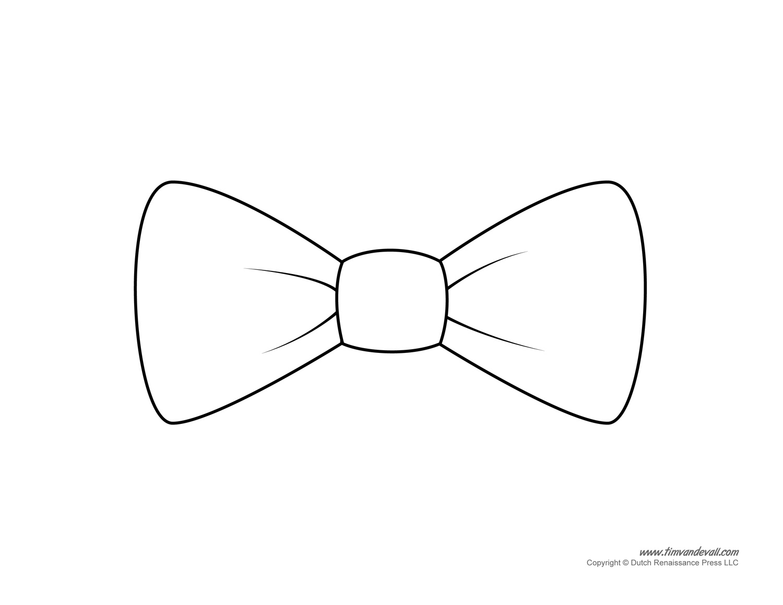 Paper Bow Tie Templates   Bow Tie Printables - Clip Art Library - Free Bow Tie Template Printable
