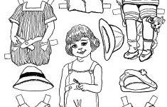 Paper Dolls And Paper Doll Dresses – Printable From Kid Fun – – Printable Paper Dolls To Color Free