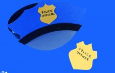 Paper Police Hat Craft – A Dab Of Glue Will Do – Free Printable Police Hat