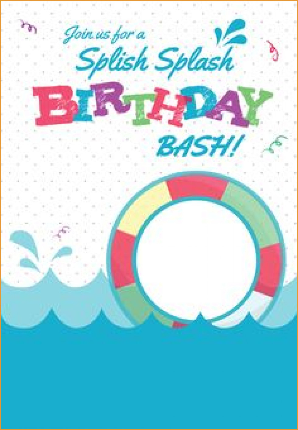 Party Invitations: Latest Free Printable Pool Party Invitations - Free Printable Pool Party Invitations