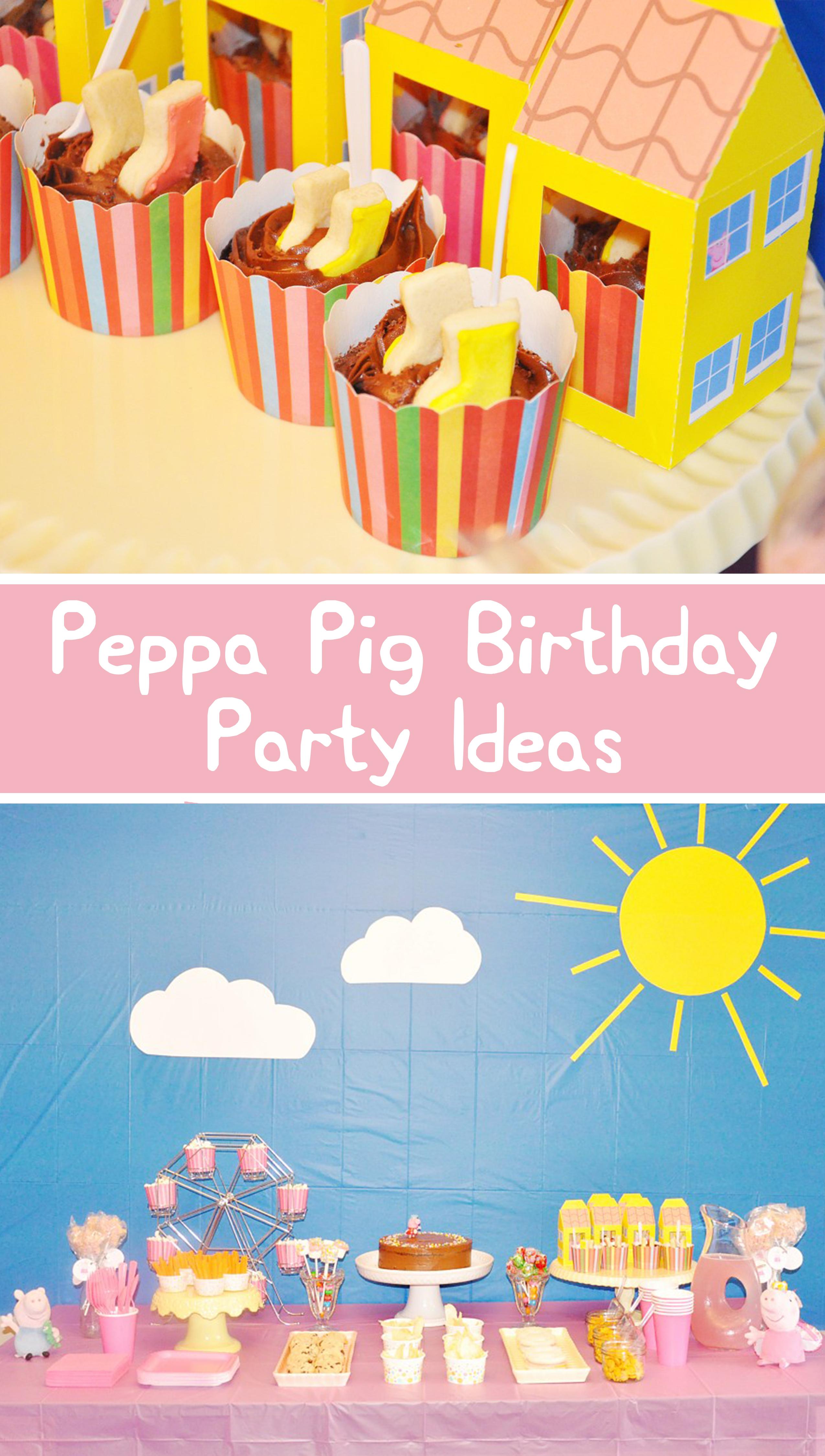 Peppa Pig Birthday Party! (Simple Diy Ideas & Free Printables - Peppa Pig Birthday Banner Printable Free