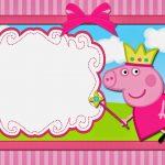 Peppa Pig Fairy: Free Printable Invitations. | Oh My Fiesta! In English – Peppa Pig Birthday Banner Printable Free