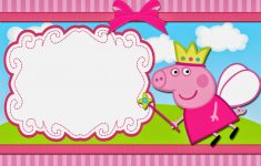 Peppa Pig Fairy: Free Printable Invitations. | Oh My Fiesta! In English – Peppa Pig Birthday Banner Printable Free
