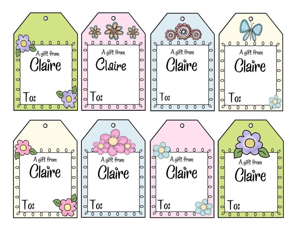 Personalized Christmas Gift Tags – Printable Or Printed With Free - Free Printable Customizable Gift Tags