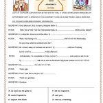 Phone Conversation Worksheet   Free Esl Printable Worksheets Made   Free Printable English Conversation Worksheets