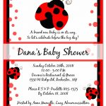 Photo : Cheap Sweet Pea Invitations Image – Free Printable Ladybug Baby Shower Invitations Templates