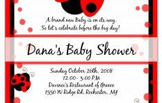 Photo : Cheap Sweet Pea Invitations Image – Free Printable Ladybug Baby Shower Invitations Templates