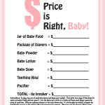 Photo : Free Printable Coed Baby Image   Free Printable Templates For Baby Shower Games