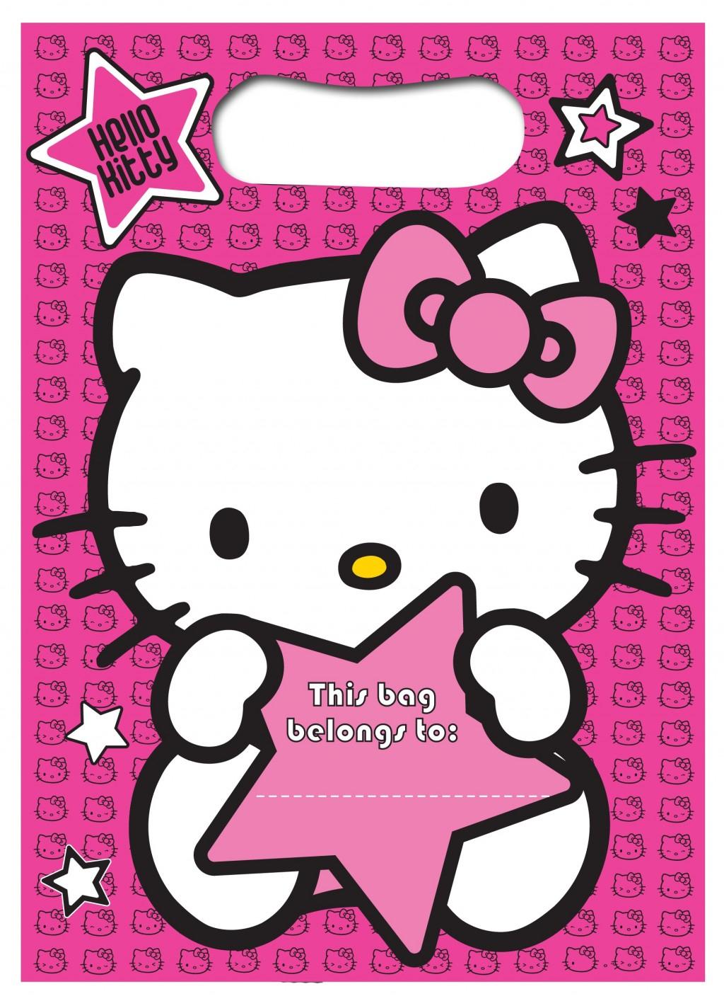 Photo : Hello Kitty And Puppy Baby Image - Free Printable Hello Kitty Baby Shower Invitations