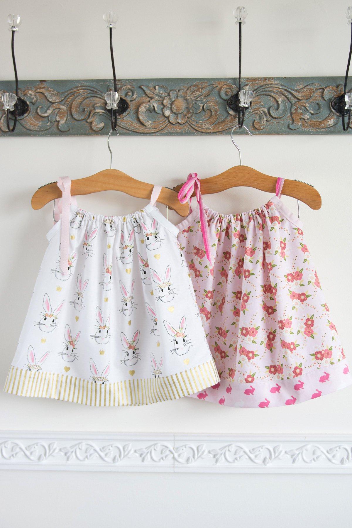 Pillowcase Dress Tutorial - The Polka Dot Chair - Free Printable Pillowcase Dress Pattern