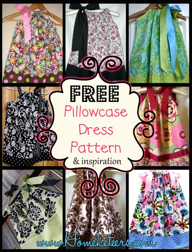 Pillowcase Dresses – Inspirations And Patterns | Children - Free Printable Pillowcase Dress Pattern