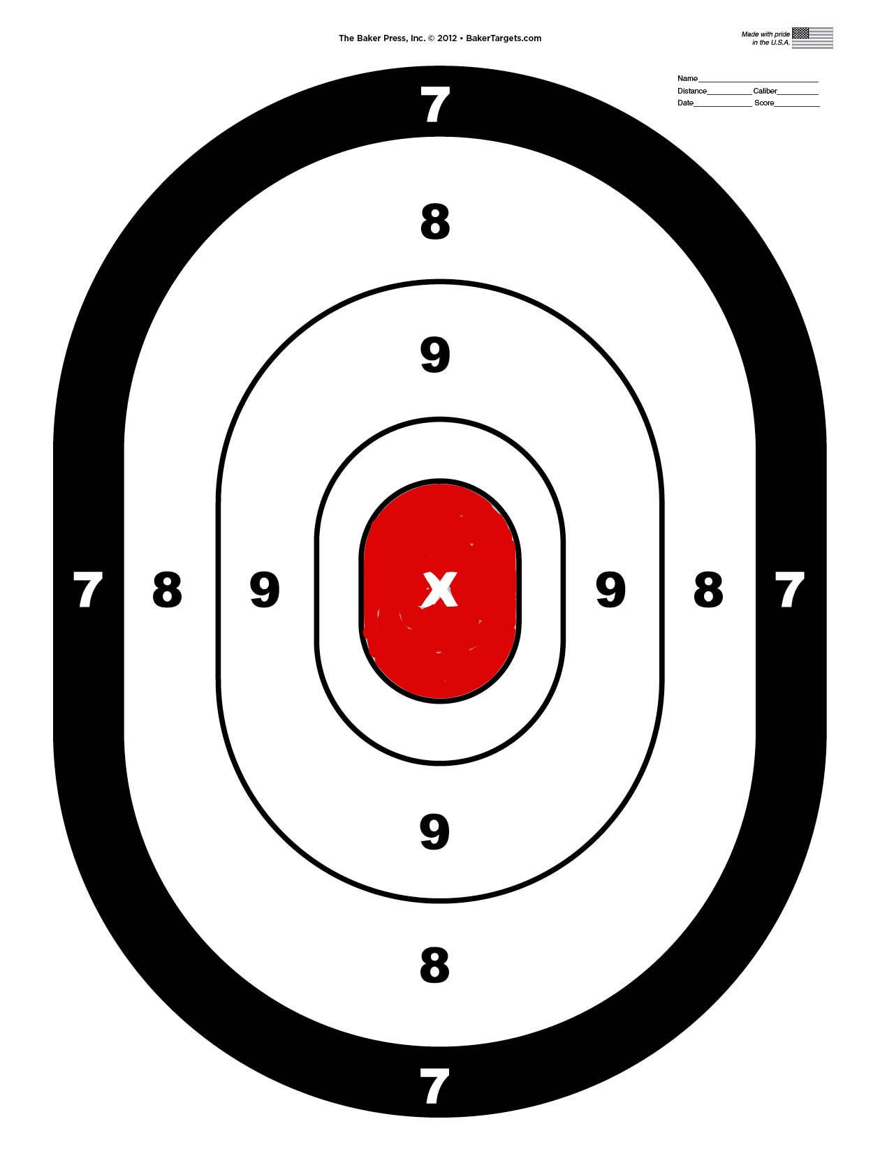 Pin On Smith & Wesson - Free Printable Targets For Shooting Practice