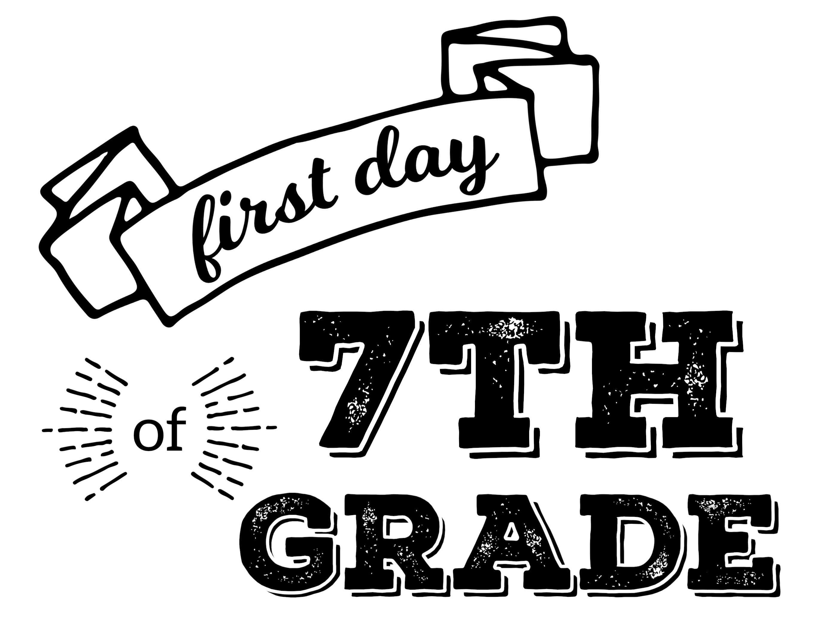 Pinchristie Arsenault Mozelak On Kid Stuff | Pinterest | School - First Day Of Fourth Grade Free Printable