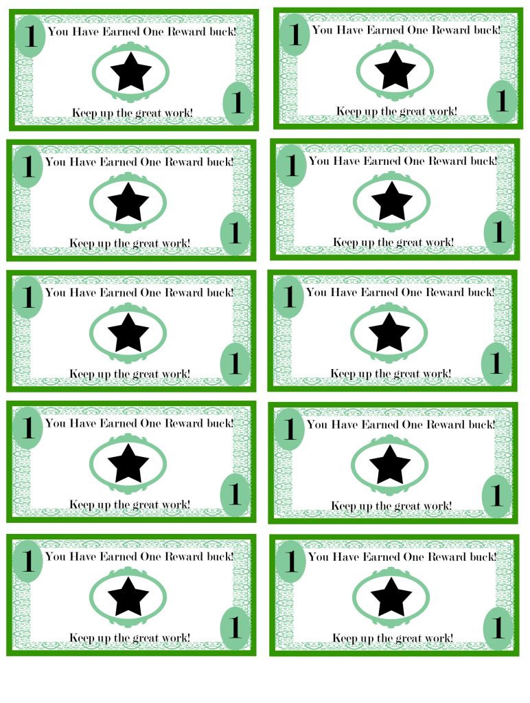 Pinellie Wastin On Teacher's Corner | Pinterest | Kids Rewards - Free Printable Chore Bucks