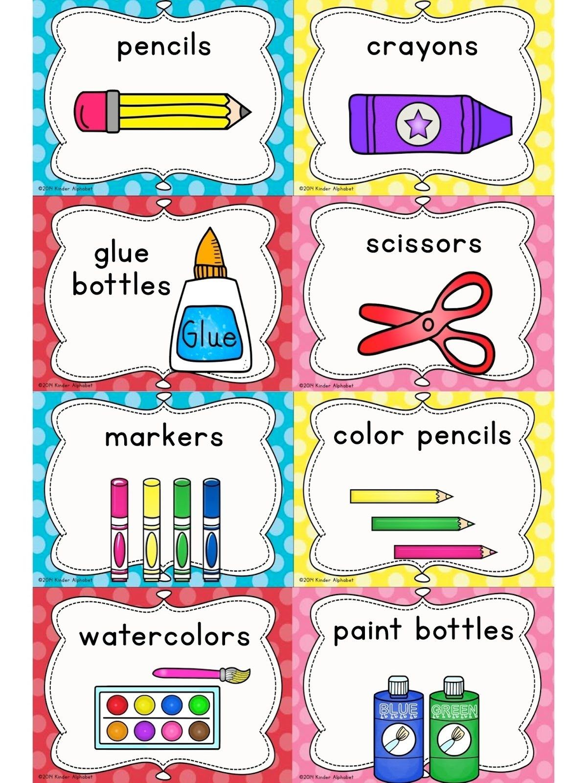 Pinjessica Adams On Class Projects/decore   Pinterest - Free Printable Classroom Labels With Pictures