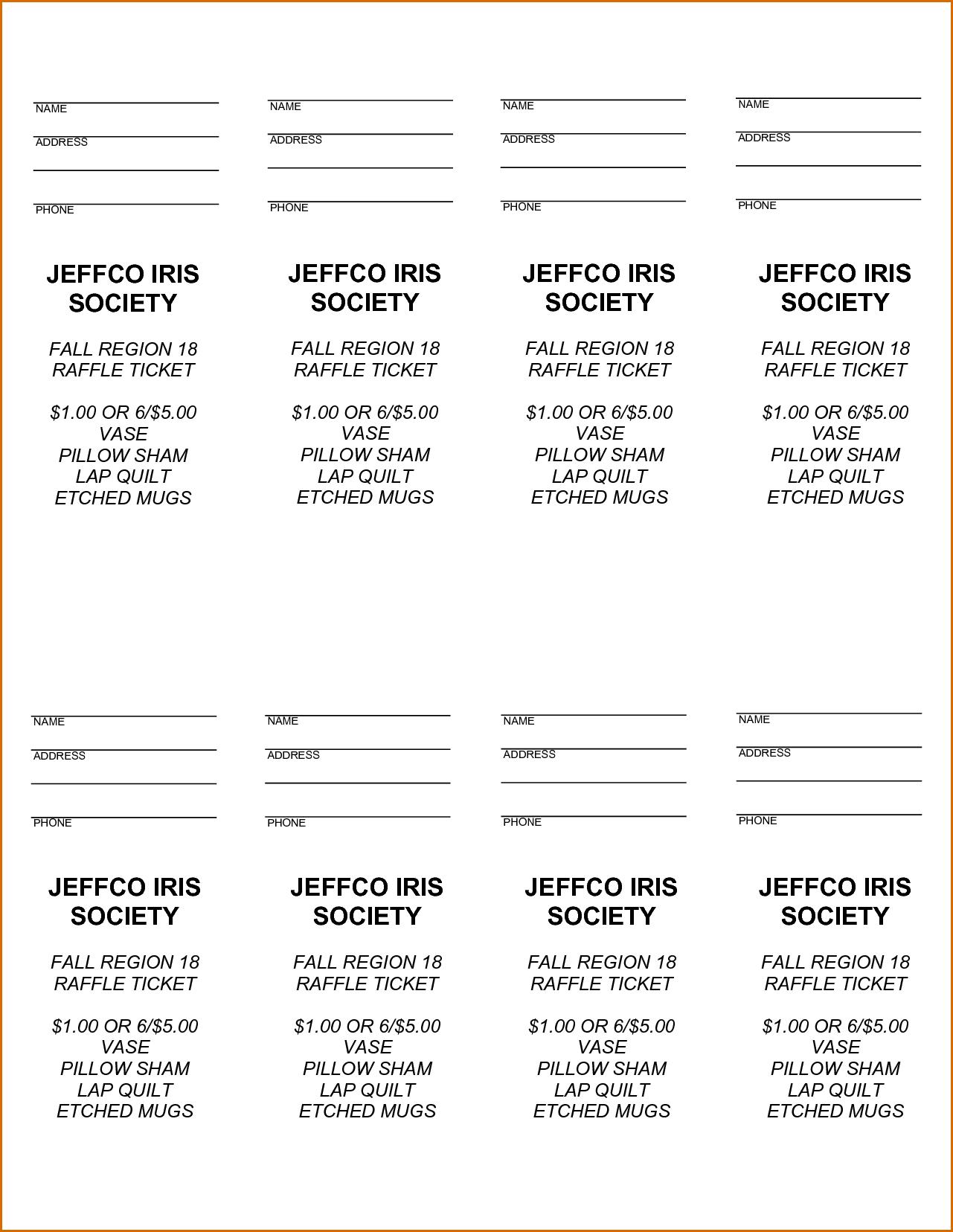 Pinjoanna Keysa On Free Tamplate | Pinterest | Ticket Template - Free Printable Raffle Ticket Template Download