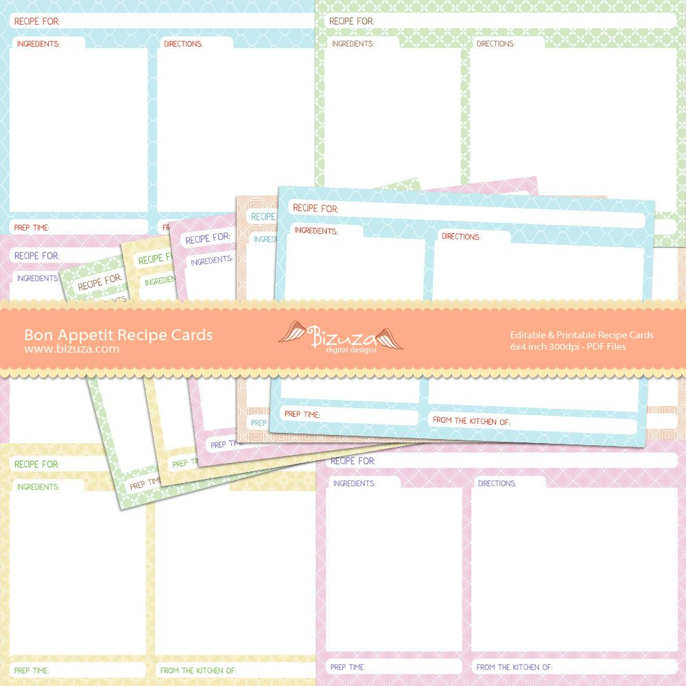 Pinlori Sanders On Great Ideas | Pinterest | Recipe Cards - Free Printable Cookbooks Pdf