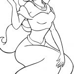 Pinnancy Yates On Aladdin | Pinterest | Disney Princess Coloring   Free Printable Princess Jasmine Coloring Pages