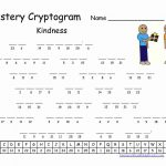 Pinrawa'a El Hussein On Cryptogram | Puzzles For Kids, Word   Free Printable Cryptograms