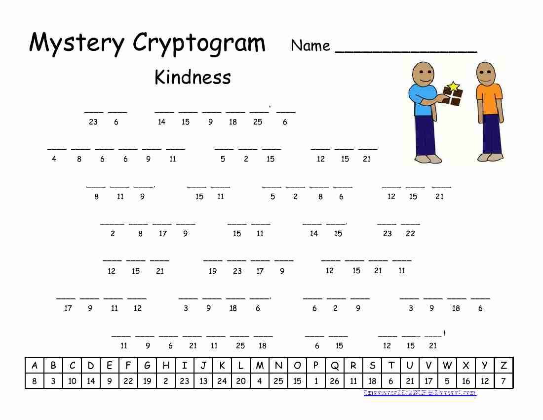 Pinrawa'a El-Hussein On Cryptogram | Puzzles For Kids, Word - Free Printable Cryptograms