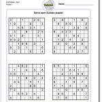 Pinwhispertech On Math Answers | Math Worksheets, Math, Worksheets   Free Printable Sudoku With Answers