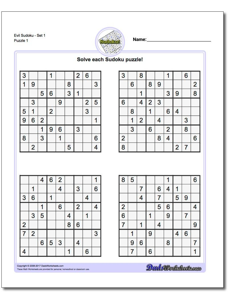 Pinwhispertech On Math Answers | Math Worksheets, Math, Worksheets - Free Printable Sudoku With Answers