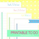Plan Your Day Ahead With These Printable To Do List Sheets!   Free Printable Kids To Do List