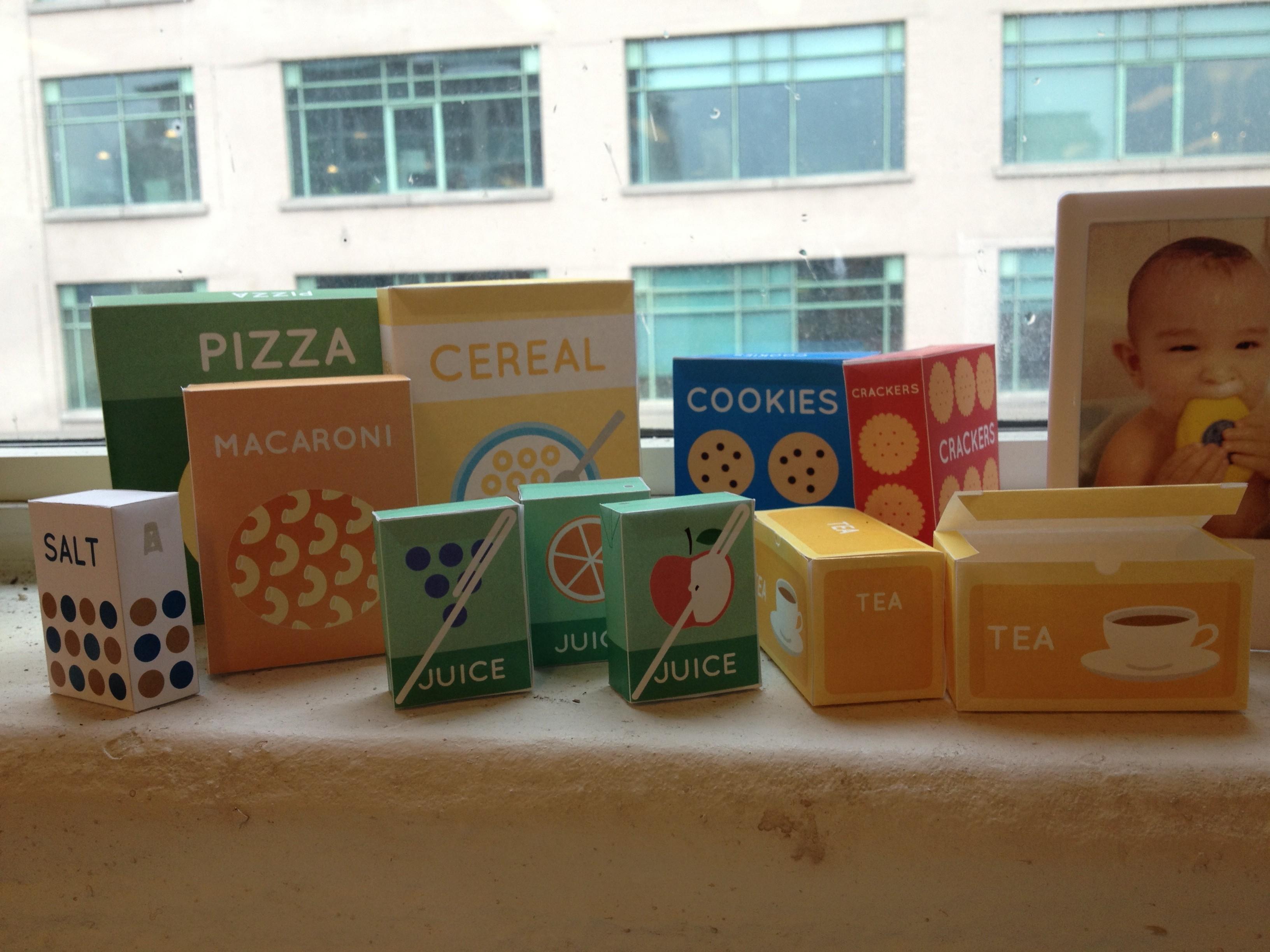 Play Food Printables | Elaine Chen - Free Printable Play Food Labels
