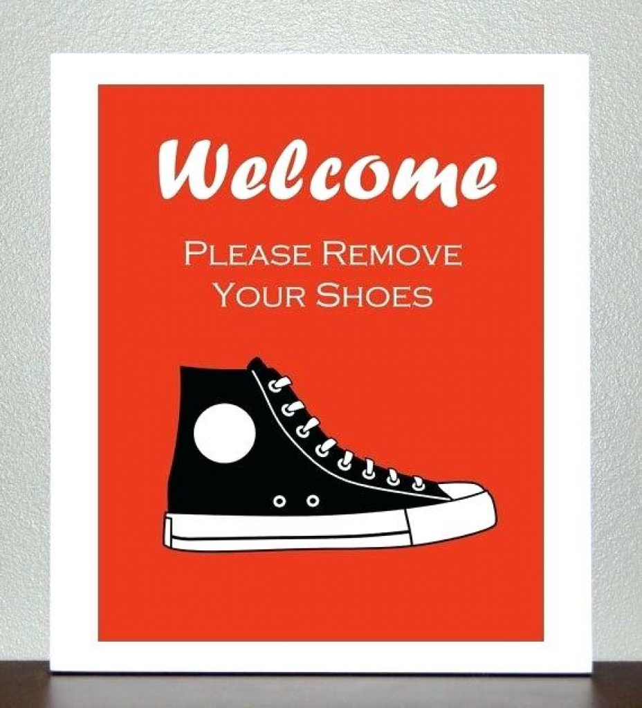 Please Remove Shoes Sign Please Remove Your Shoes Sign Printable - Free Printable Remove Your Shoes Sign