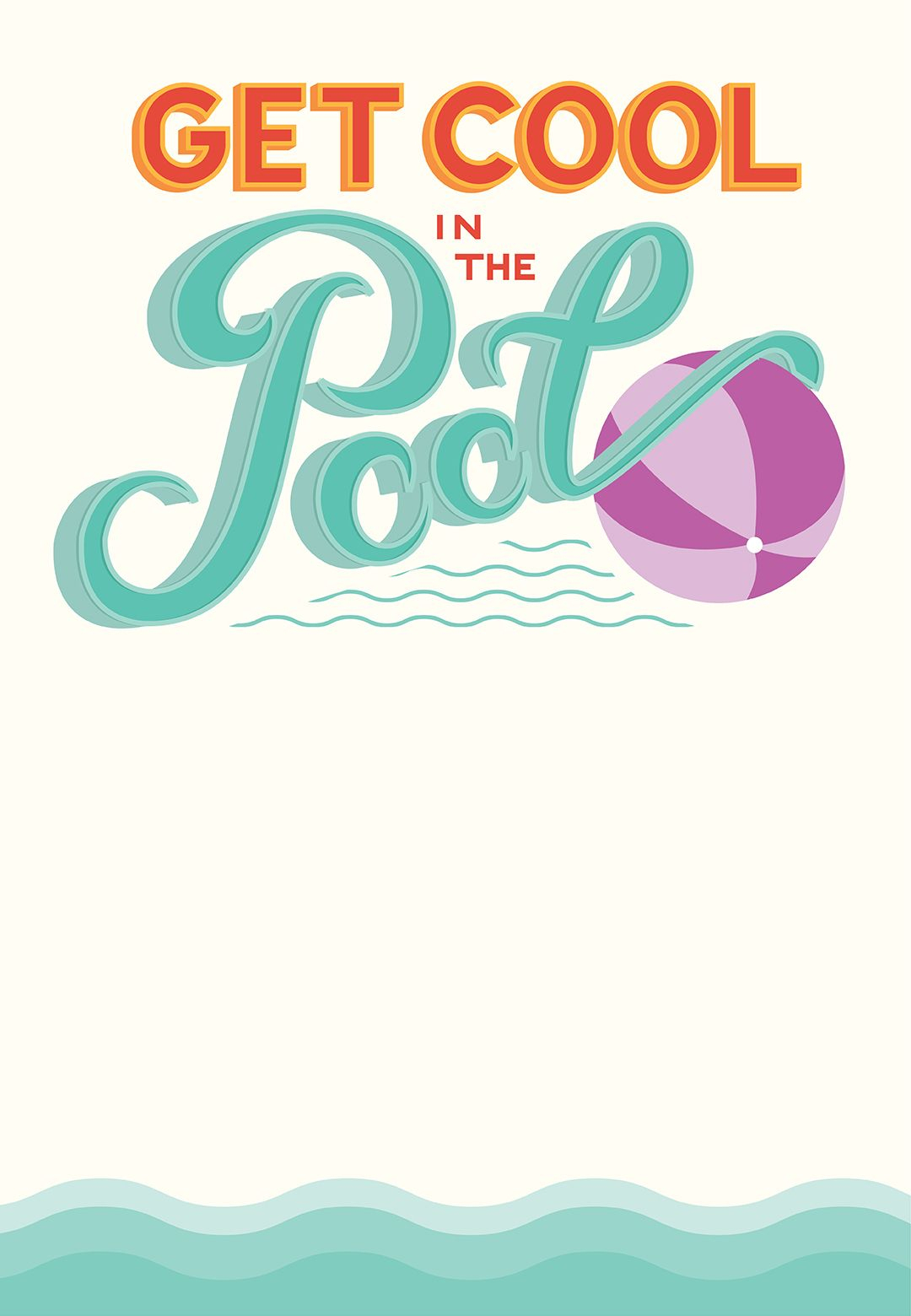 Pool Party - Free Printable Party Invitation Template | Greetings - Free Printable Pool Party Birthday Invitations