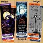 Popular Nightmare Before Christmas Birthday Invitations As How To   Free Printable Nightmare Before Christmas Birthday Invitations