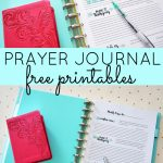 Prayer Journal Free Printables | Top Pins From Top Bloggers   Free Printable Prayer Journal