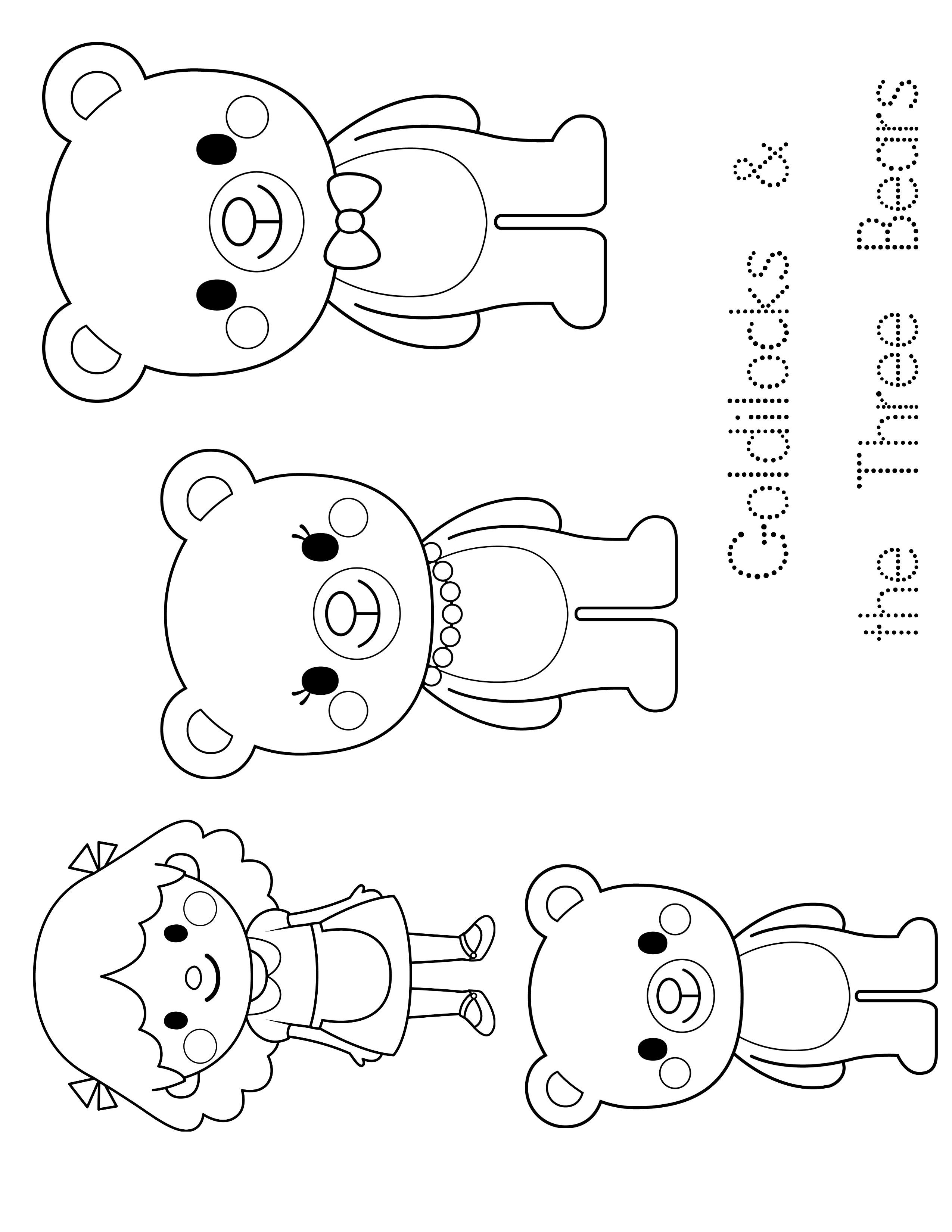 Preschool Enchantment Unit Study Week 3: Goldilocks - Rock Your - Free Printable Goldilocks And The Three Bears Story