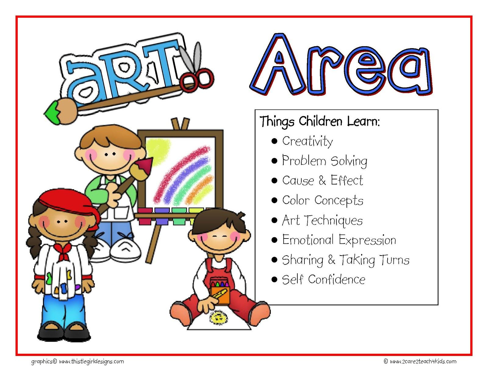 Preschool Free Play Clip Art | The Signs Include The Following - Free Printable Center Signs For Pre K