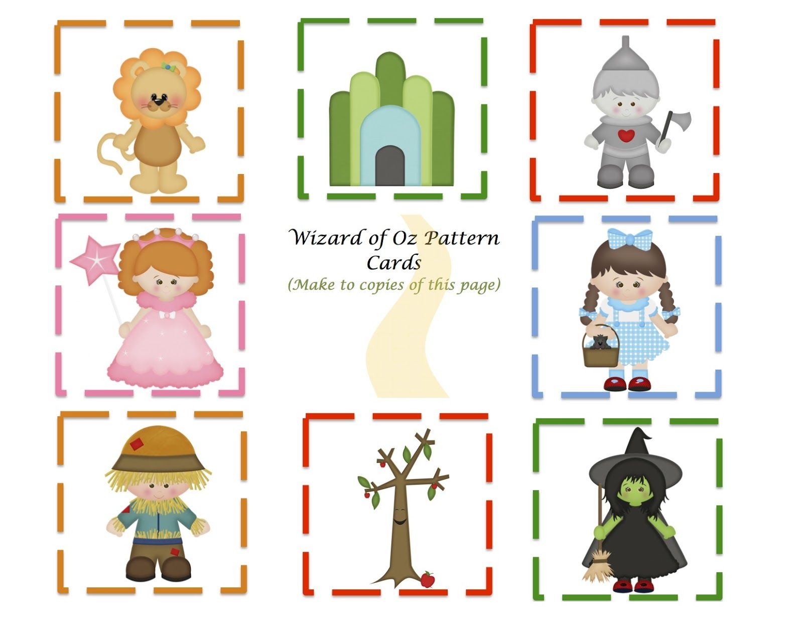 Preschool Printables | Things To Do In The Classroom | Wizard Of Oz - Free Printable Wizard Of Oz Masks