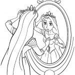 Princess Rapunzel Coloring Page | Free Printable Coloring Pages   Free Printable Tangled