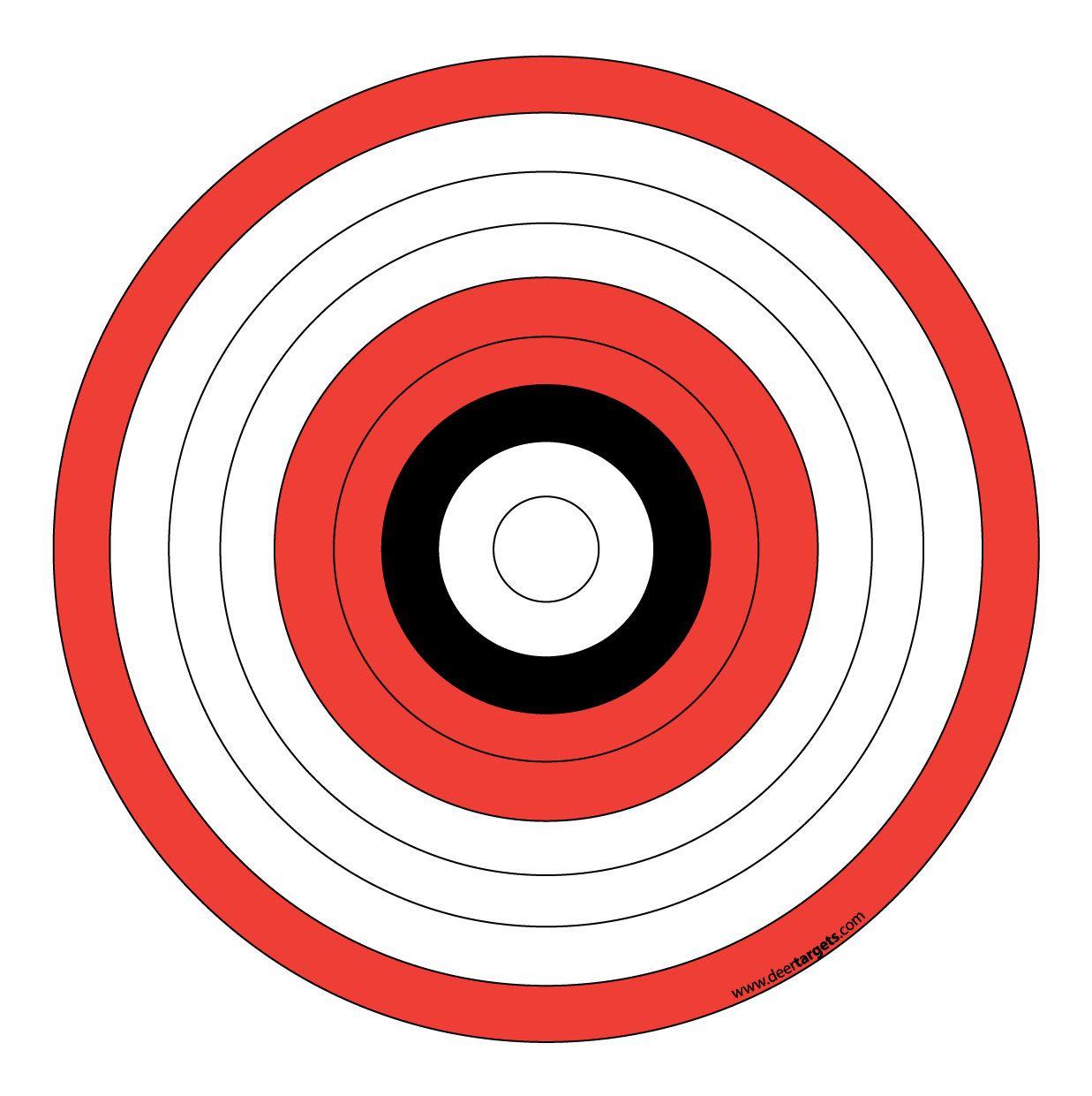 Printable Arrow Targets - 6.2.hus-Noorderpad.de • - Free Printable Targets For Shooting Practice
