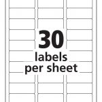 Printable Avery Labels Template | Download Them Or Print   Free Printable Christmas Address Labels Avery 5160