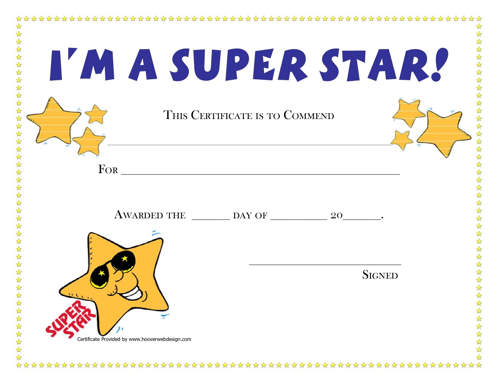 Printable Award Certificates For Students | 4Th Grade | Pinterest - Free Printable Certificates For Students