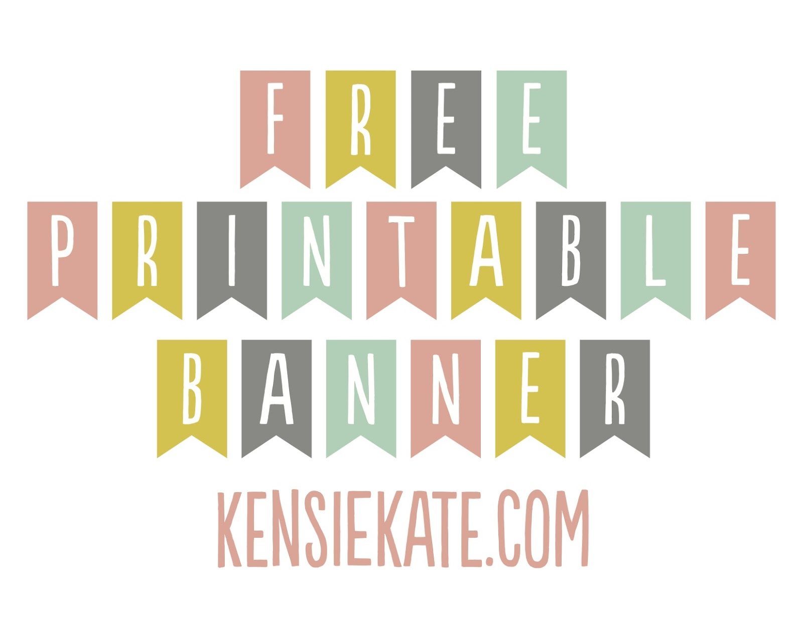 Printable Banner Templates | Download Them And Try To Solve - Free Printable Banner Templates