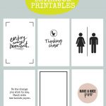 Printable Bathroom Signs | Being Mrs Mcintosh   Free Printable Funny Signs