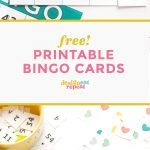 Printable Bingo Cards   Game Night Idea!   Design Eat Repeat   Free Printable Bingo Cards Random Numbers