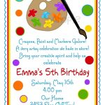Printable Birthday Party Invitation Templates — Birthday Invitation   Free Printable 16Th Birthday Party Invitation Templates