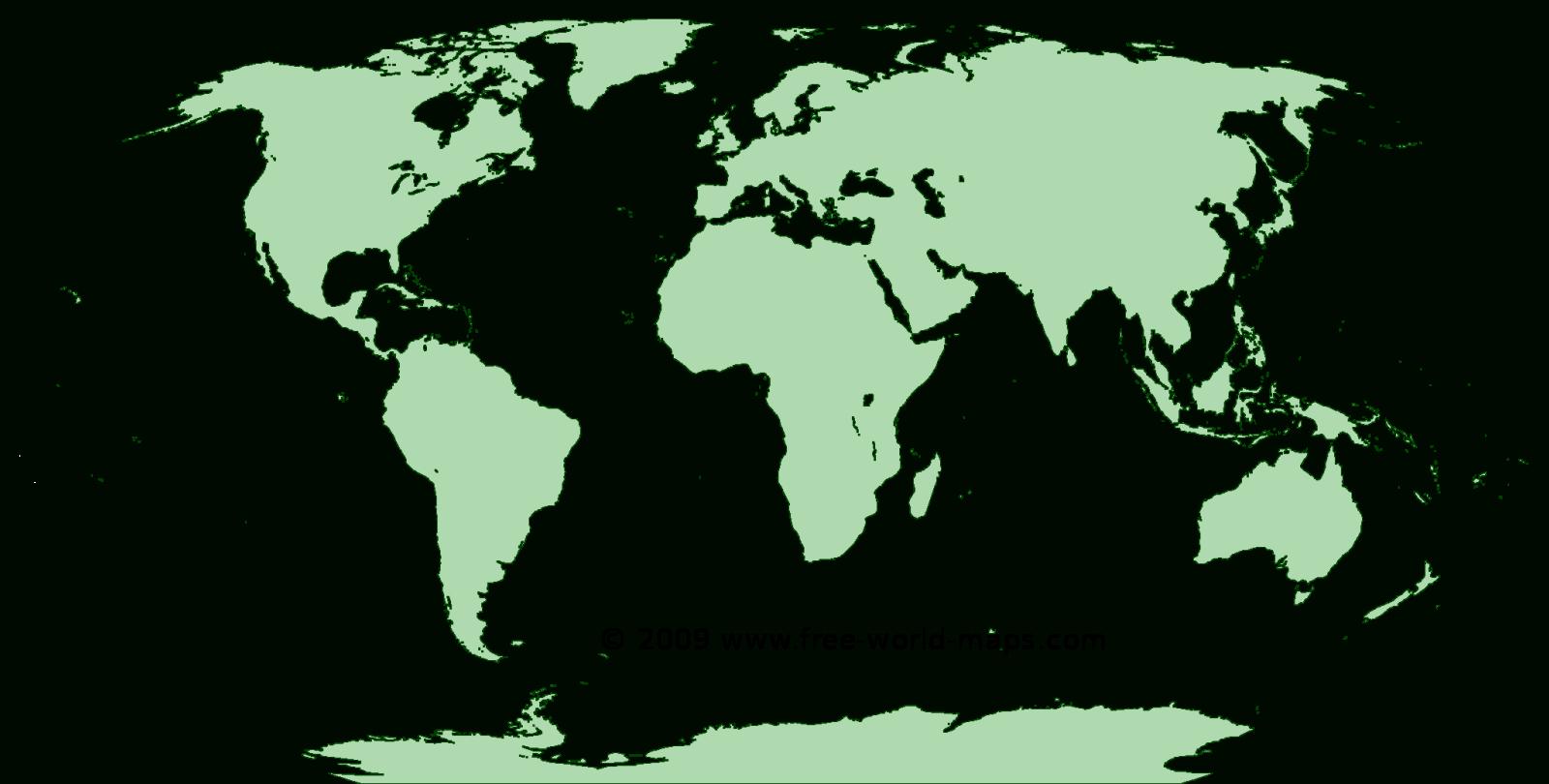 Printable Blank World Maps | Free World Maps - Free Printable World Maps Online
