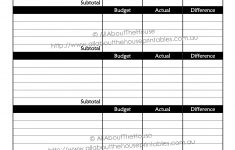 Printable Budget Planner/finance Binder Update – All About Planners – Free Printable Home Budget Planner