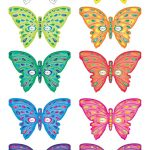 Printable Butterfly Masks   Coolest Free Printables | Saving   Free Printable Butterfly