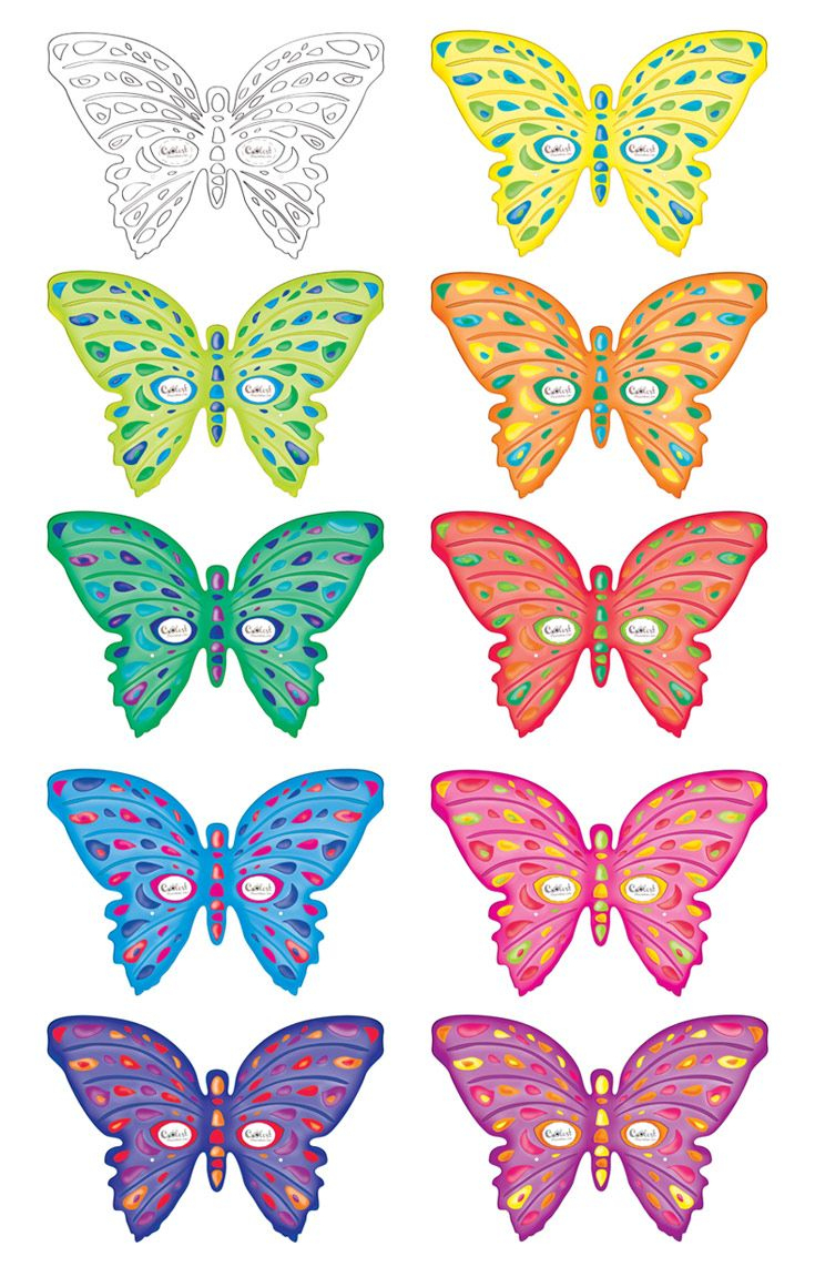 Printable Butterfly Masks - Coolest Free Printables   Saving - Free Printable Butterfly Pictures
